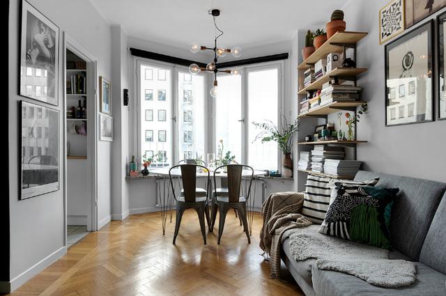 Thiết kế căn hộ 20m2 đẹp đến nao lòng  - Ảnh 1.