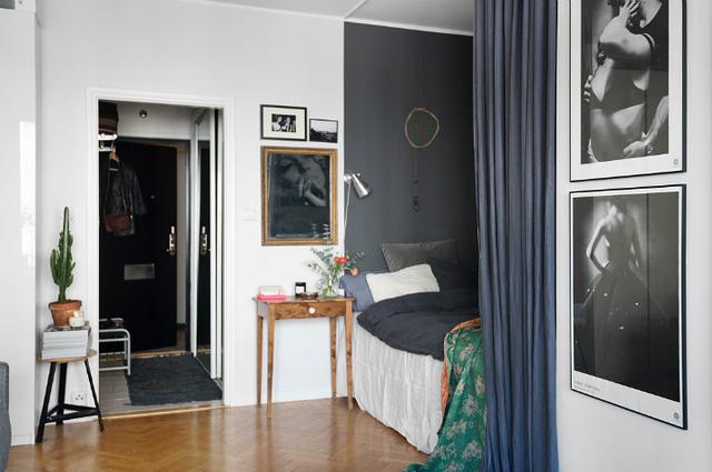 Thiết kế căn hộ 20m2 đẹp đến nao lòng - Ảnh 2.