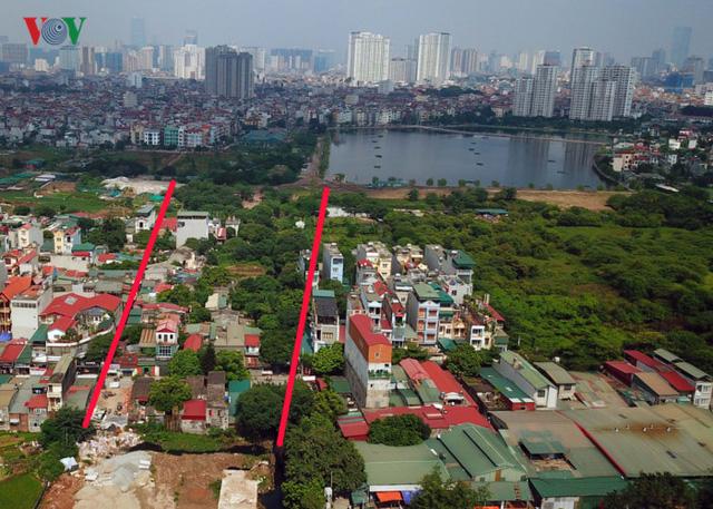 Ảnh: Con đường hơn nghìn tỷ ở Hà Nội 15 năm chưa làm xong  - Ảnh 2.