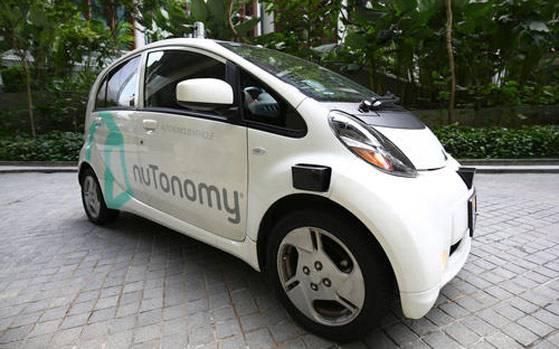 Singapore từng thử nghiệm thành công taxi tự lái