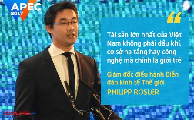 Cựu Phó thủ tướng Đức gốc Việt Philipp Rösler: Tài sản lớn nhất của Việt Nam không phải dầu khí, cơ sở hạ tầng hay công nghệ mà chính là giới trẻ - Ảnh 1.