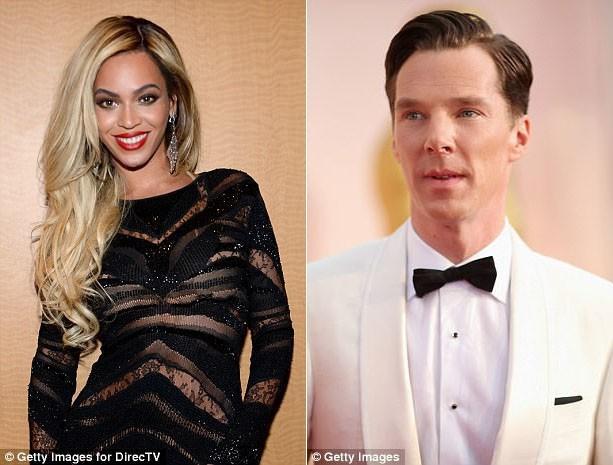 Beyonce (bên trái) và Benedict Cumberbatch đều tuyên bố rằng họ đã thành công trong việc giảm cân nhờ sử dụng kế hoạch ăn chay liên tục 5: 2.