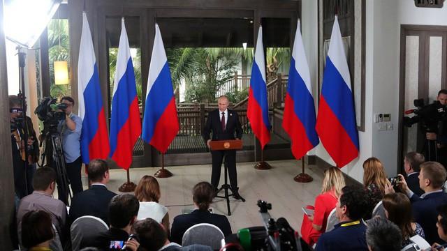 Cận cảnh Khu villa nơi Tổng thống Nga Vladimir Putin họp báo bên lề APEC  - Ảnh 1.