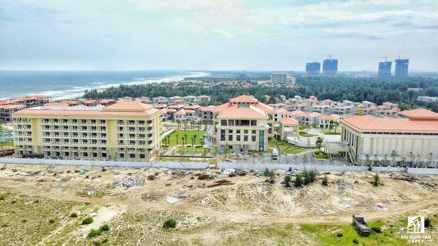 Cận cảnh khu tổ hợp khách sạn nghìn tỷ Sheraton Đà Nẵng nhìn từ trên cao vừa mới đổi chủ - Ảnh 1.