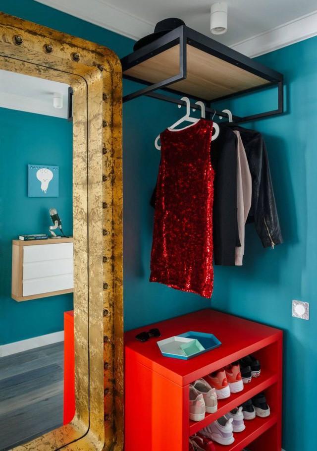 Căn hộ 35m2 đẹp mãn nhãn với nội thất nhiều màu sắc - Ảnh 1.