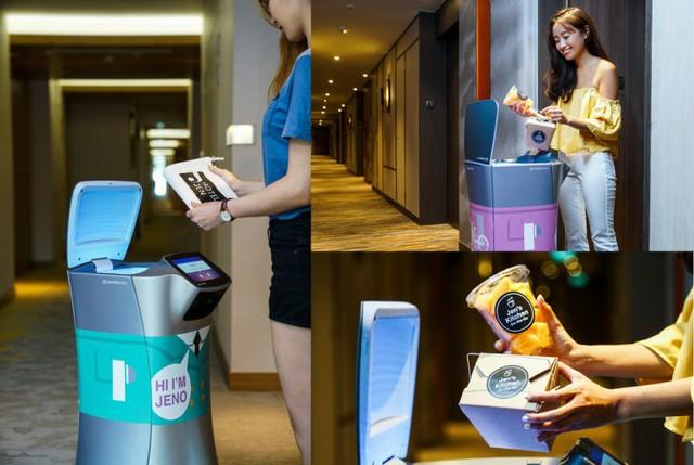 Trải nghiệm sự phục vụ chu đáo của robot tại khách sạn hạng sang ở Singapore  - Ảnh 1.
