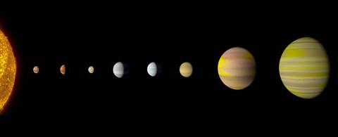 Phát hiện hệ sao 8 hành tinh giống hệ Mặt Trời nhờ dùng trí tuệ nhân tạo - Ảnh 1.