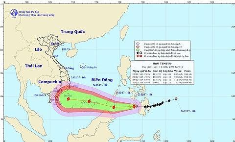 Chưa bao giờ xảy ra bão muộn, mạnh như bão Tembin, rủi ro thiên tai cấp cao nhất - Ảnh 1.