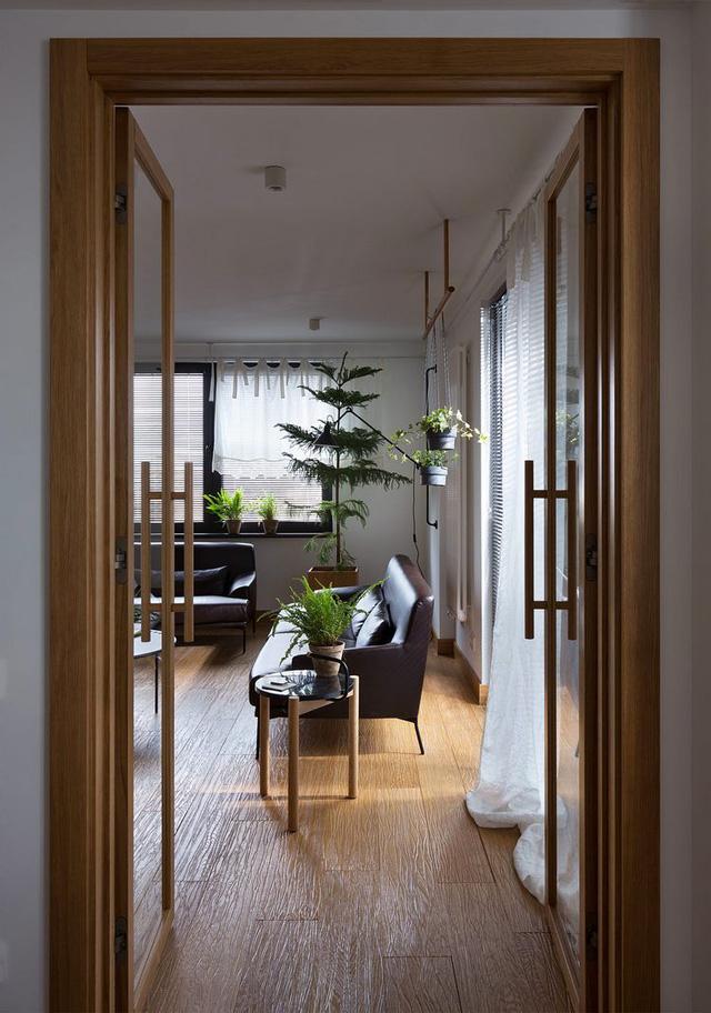 Căn hộ đẹp như mơ với cây xanh và nội thất gỗ - Ảnh 11.