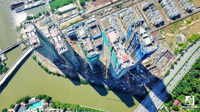 Dự án bất động sản cao cấp lớn thứ 2 của Vingroup tại Sài Gòn đang xây đến đâu? - Ảnh 11.