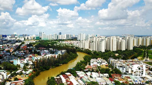 Diện mạo BĐS khu Nam Sài Gòn nhìn từ trên cao đang thay đổi chóng mặt  - Ảnh 12.