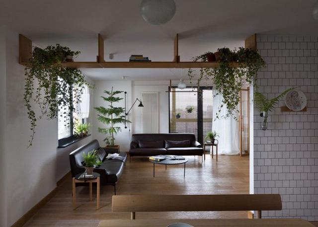Căn hộ đẹp như mơ với cây xanh và nội thất gỗ - Ảnh 12.