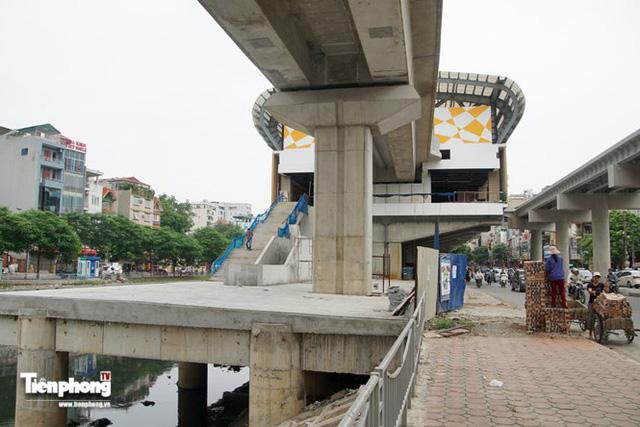 Hình ảnh dự án đường sắt Cát Linh - Hà Đông trước ngày chạy thử - Ảnh 12.