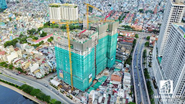 Bến Vân Đồn nhìn từ trên cao, hàng loạt chung cư cao cấp làm thay đổi diện mạo cung đường đắt giá bậc nhất Sài Gòn - Ảnh 12.