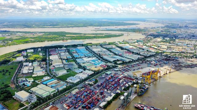 Cận cảnh nhiều khu cảng lớn tại Sài Gòn được di dời nhường đất phát triển đô thị - Ảnh 12.