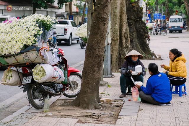 Đằng sau những gánh cúc họa mi trên phố Hà Nội là nỗi niềm của người nông dân Nhật Tân: Không còn sức nữa, phải bỏ hoa về nhà!  - Ảnh 12.