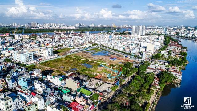 Cận cảnh tiến độ loạt dự án có sức hút lớn dọc kênh rạch Sài Gòn - Ảnh 12.