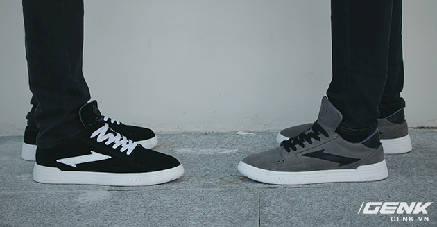 Phối màu Fayde (đen/trắng) và Life in Grey (xám, đen, trắng)