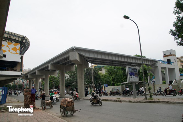 Hình ảnh dự án đường sắt Cát Linh - Hà Đông trước ngày chạy thử - Ảnh 13.