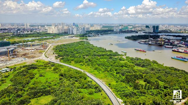 Cận cảnh nhiều khu cảng lớn tại Sài Gòn được di dời nhường đất phát triển đô thị - Ảnh 13.