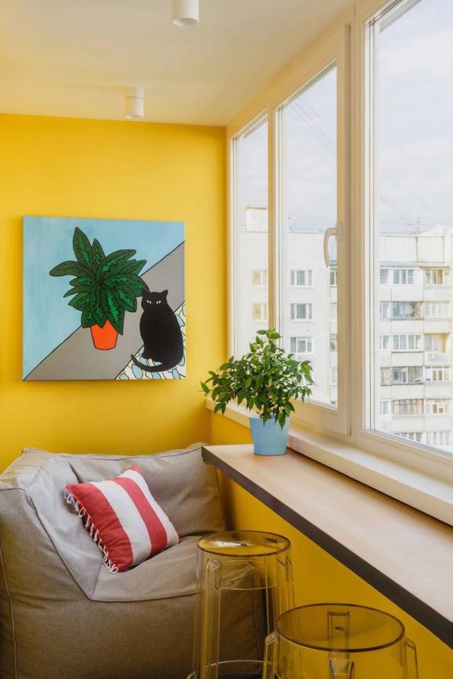 Căn hộ 35m2 đẹp mãn nhãn với nội thất nhiều màu sắc - Ảnh 13.