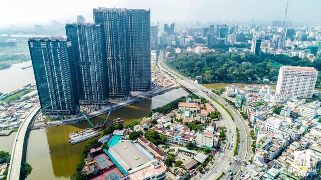 Cận cảnh tiến độ loạt dự án có sức hút lớn dọc kênh rạch Sài Gòn - Ảnh 13.