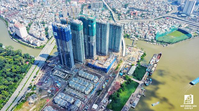 Dự án bất động sản cao cấp lớn thứ 2 của Vingroup tại Sài Gòn đang xây đến đâu? - Ảnh 14.