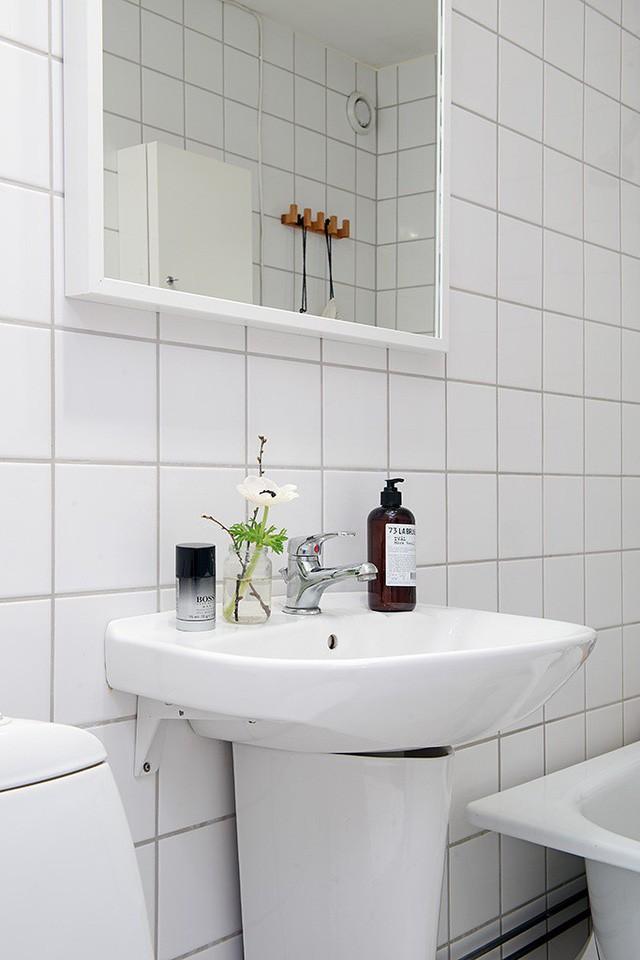 Phong cách thiết kế nội thất Bắc Âu (Scandinavia) ấn tượng trong căn hộ hơn 40m2  - Ảnh 14.