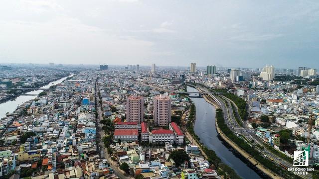 Cận cảnh tiến độ loạt dự án có sức hút lớn dọc kênh rạch Sài Gòn - Ảnh 14.