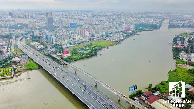 Tuyến Metro số 1 Bến Thành - Suối Tiên nhìn từ trên cao - Ảnh 15.