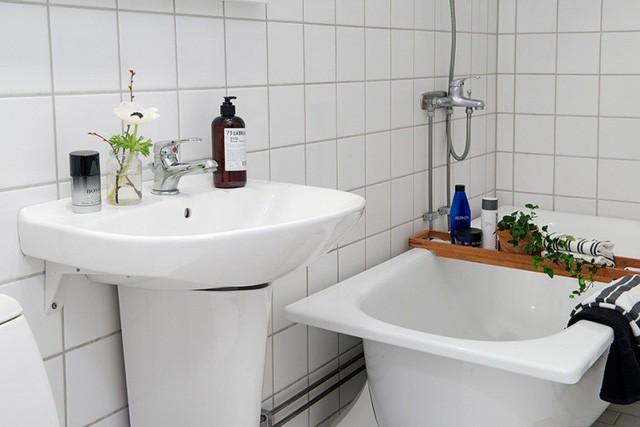 Phong cách thiết kế nội thất Bắc Âu (Scandinavia) ấn tượng trong căn hộ hơn 40m2  - Ảnh 15.