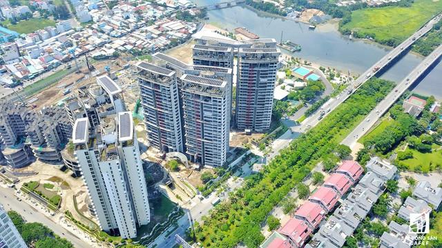 Cận cảnh tiến độ loạt dự án có sức hút lớn dọc kênh rạch Sài Gòn - Ảnh 15.