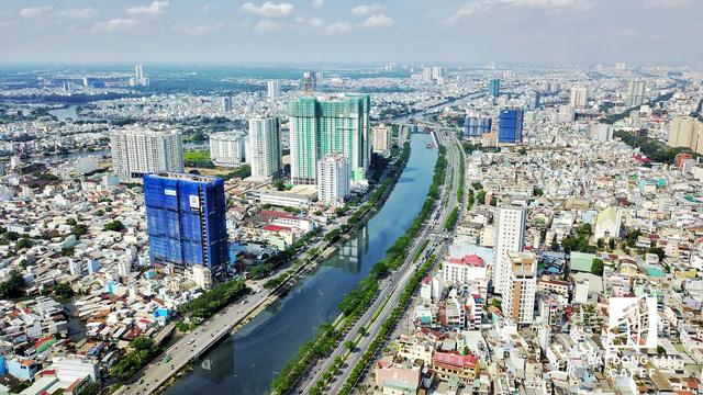 Bến Vân Đồn nhìn từ trên cao, hàng loạt chung cư cao cấp làm thay đổi diện mạo cung đường đắt giá bậc nhất Sài Gòn - Ảnh 17.