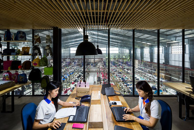 Một xưởng may tại KCN ở Sài Gòn được thiết kế phủ kín cây xanh mướt xuất hiện trên báo ngoại - Ảnh 17.