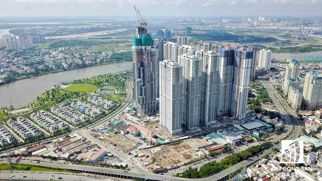 Dự án bất động sản cao cấp lớn thứ 2 của Vingroup tại Sài Gòn đang xây đến đâu? - Ảnh 17.