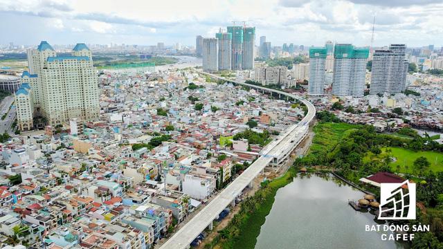 Tuyến Metro số 1 Bến Thành - Suối Tiên nhìn từ trên cao - Ảnh 18.