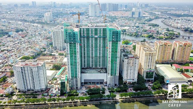 Bến Vân Đồn nhìn từ trên cao, hàng loạt chung cư cao cấp làm thay đổi diện mạo cung đường đắt giá bậc nhất Sài Gòn - Ảnh 18.