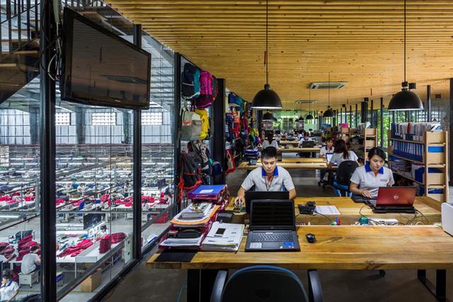 Một xưởng may tại KCN ở Sài Gòn được thiết kế phủ kín cây xanh mướt xuất hiện trên báo ngoại - Ảnh 18.