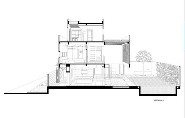Biệt thự 3 tầng thiết kế độc ở TP. HCM xuất hiện ấn tượng trên báo Mỹ  - Ảnh 20.