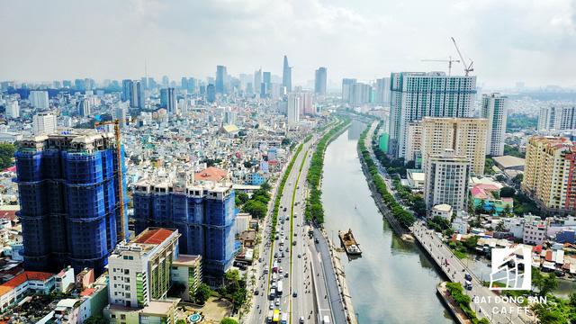 Bến Vân Đồn nhìn từ trên cao, hàng loạt chung cư cao cấp làm thay đổi diện mạo cung đường đắt giá bậc nhất Sài Gòn - Ảnh 20.