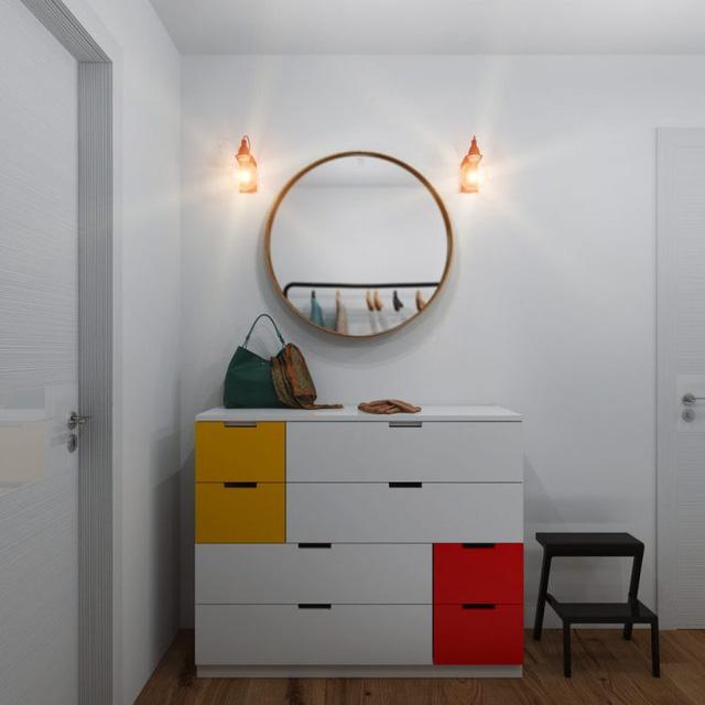 Thiết kế nội thất chất lừ của ngôi nhà ống 65m2 cho các gia đình trẻ - Ảnh 3.
