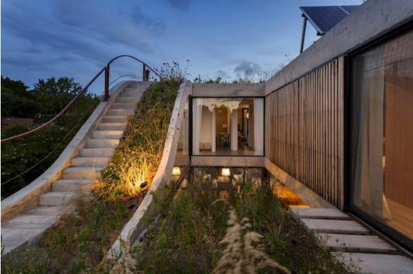 Thiết kế ấn tượng các khu vườn trên mái tạo nên kiến trúc của ngôi nhà rất độc đáo - Ảnh 3.