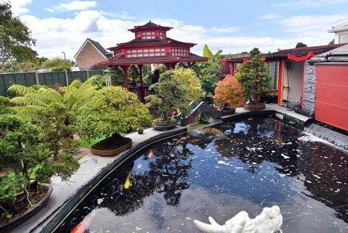 Mê mẩn khu vườn Á Đông như thiên đường của ông lão 80 tuổi - Ảnh 3.