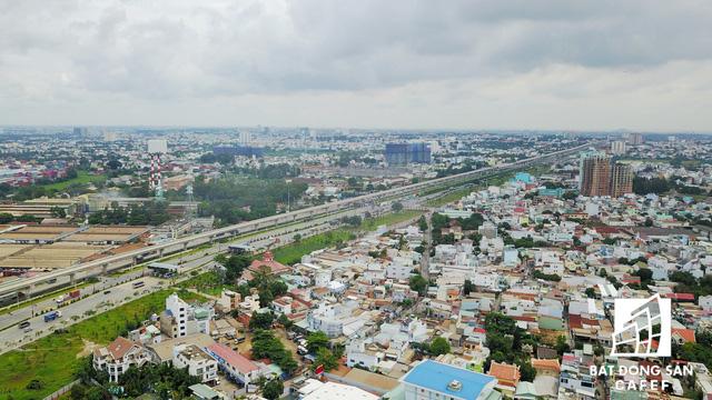 Tuyến Metro số 1 Bến Thành - Suối Tiên nhìn từ trên cao - Ảnh 3.