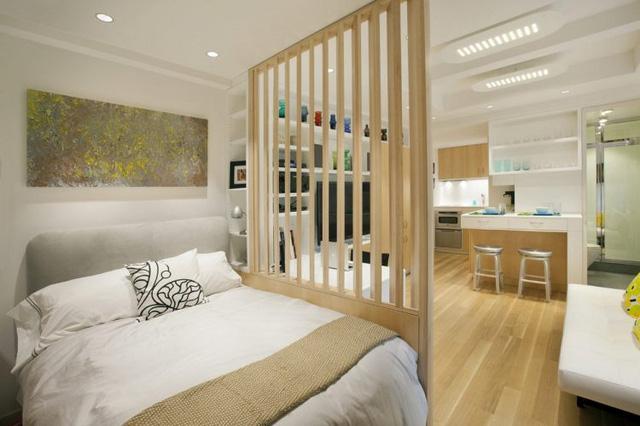 Thiết kế nội thất căn hộ 32m2 chất lừ cho gia đình trẻ - Ảnh 3.
