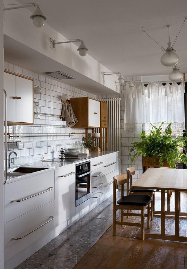 Căn hộ đẹp như mơ với cây xanh và nội thất gỗ - Ảnh 3.
