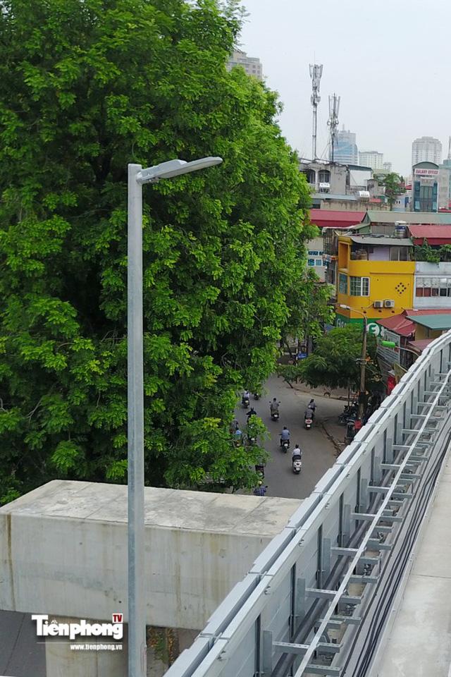 Hình ảnh dự án đường sắt Cát Linh - Hà Đông trước ngày chạy thử - Ảnh 3.