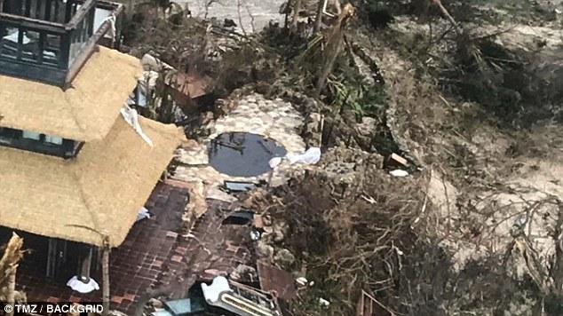 Nhà của tỷ phú Richard Branson tan tành vì siêu bão Irma - Ảnh 3.
