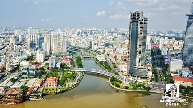 Bến Vân Đồn nhìn từ trên cao, hàng loạt chung cư cao cấp làm thay đổi diện mạo cung đường đắt giá bậc nhất Sài Gòn - Ảnh 3.