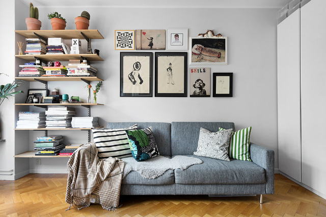 Thiết kế căn hộ 20m2 đẹp đến nao lòng  - Ảnh 3.